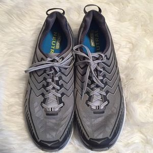 Men's Hoka One One Clifton 4 Running Shoes, 12.5EE